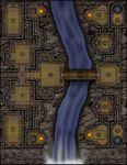 RPG Item: VTT Map Set 142: Stonekeep Falls
