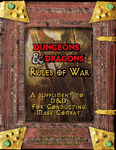 RPG Item: Dungeons and Dragons Rules of War