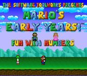 Video Game: Mario's Early Years: Fun with Letters
