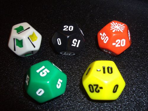 Board Game: Go 500 Racing Dice Game