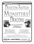 RPG Item: GURPS Dungeon Fantasy: Monsters 4: Dragons