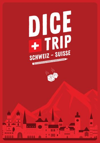 Board Game: Dice Trip: Switzerland