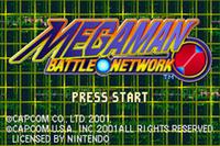 Video Game: Mega Man Battle Network
