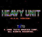 Video Game: Heavy Unit