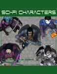 RPG Item: Devin Token Pack 119: Sci-Fi Characters