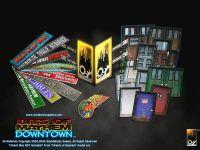 RPG Item: UrbanMayhem: Bits of Mayhem Downtown
