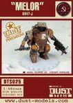 "Board Game: Dust Tactics: KV47 Recovery & Demolition Walker – ""Maksim / Marlen / Melor / Mikhail"""