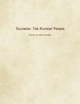 RPG Item: Talomire: The Players' Primer