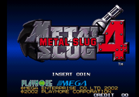 Video Game: Metal Slug 4