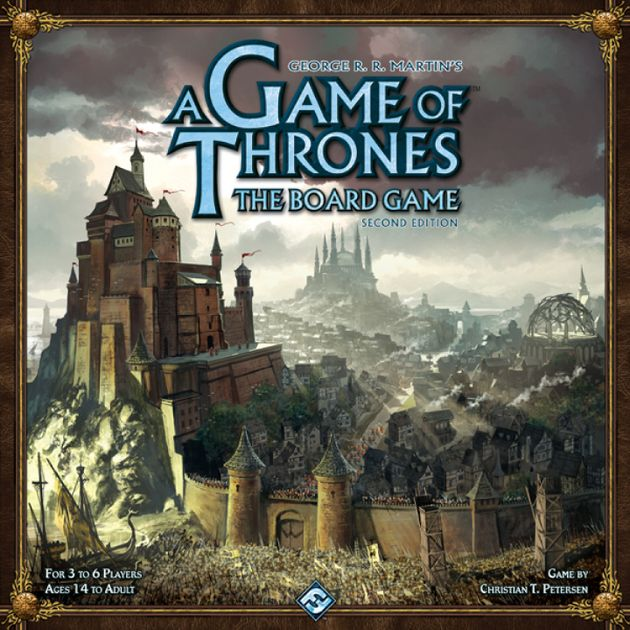 A Game Of Thrones The Board Game Second Edition Board Game Boardgamegeek