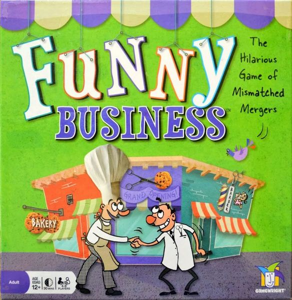 Funny Business - Gamewright (2009) - Box Front