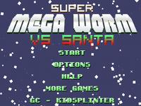 Video Game: Super Mega Worm vs Santa