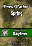 RPG Item: Heroic Maps Explorer: Forest Paths: Spring