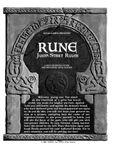 RPG Item: Rune Jump-Start Rules