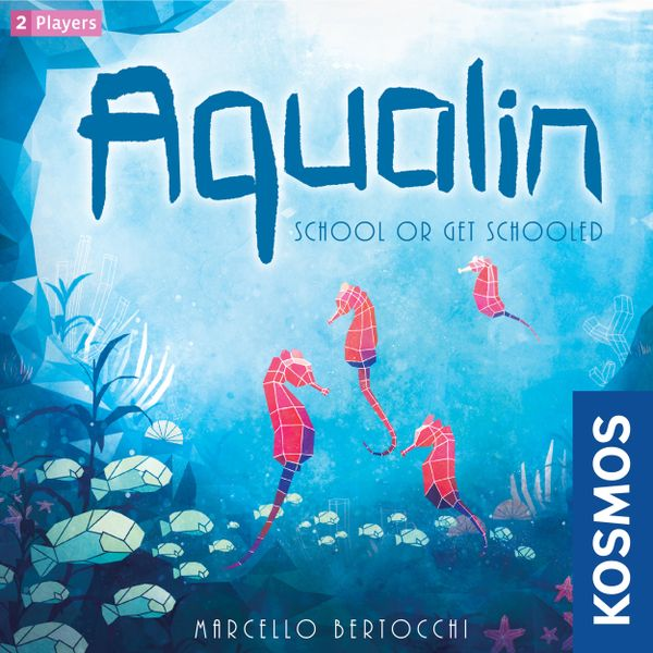 Aqualin, KOSMOS, 2020 — front cover (image provided by the publisher)