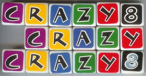 Board Game: Crazy Eights Dice