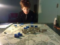 Marek with his wargamer face.