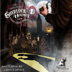 The Original Sherlock Holmes and His Baker Street Irregulars Cover Artwork