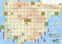 Board Game: Carcassonne Maps: Península Ibérica