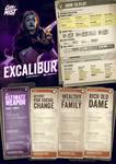 RPG Item: City of Mist Playbook: Excalibur