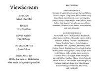 RPG Item: ViewScream (2nd Ed.)