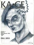 Issue: KA•GE (Volume 1, Issue 5 - 3rd Quarter 1992)