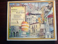Board Game: All About Town: Newport County Rhode Island