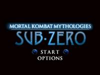 Video Game: Mortal Kombat Mythologies: Sub-Zero