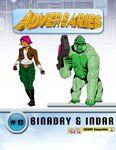 RPG Item: Adversaries #0: Binary & Indar (Capes, Cowls & Villains Foul)