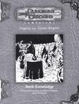 RPG Item: LGR13: Book Knowledge