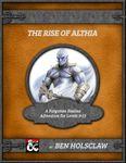 RPG Item: The Rise of Althia
