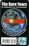 Board Game: Chrononauts: The Gore Years