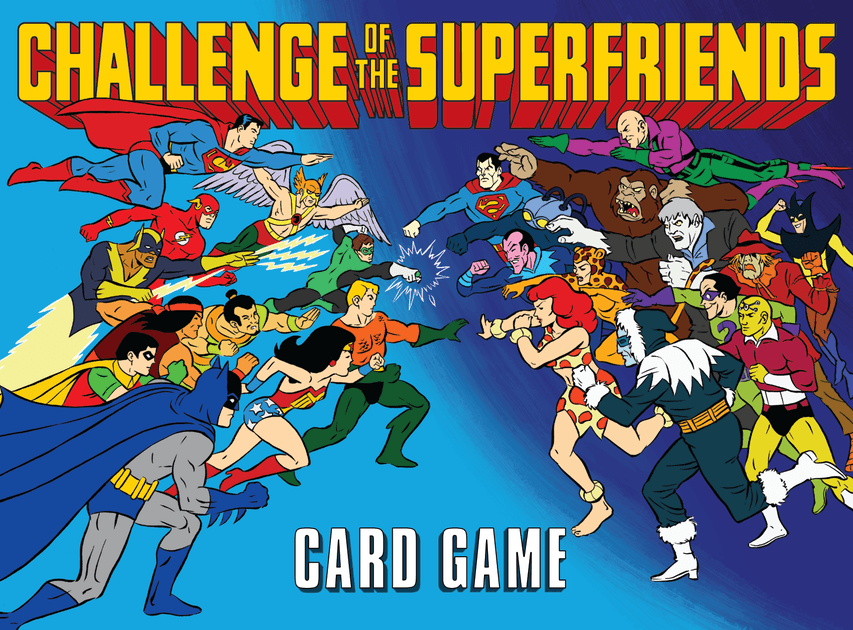 Cryptozoic Entertainment Challenge of The Super Friends Gryphon Card Game *English Version*