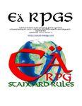 RPG Item: Eä RPGS Standard Rules Player Manual