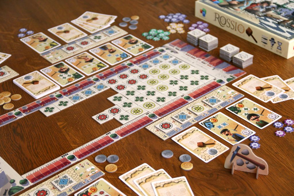 Board Game: Rossio