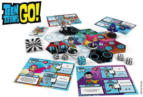 Board Game: Teen Titans GO! Mayhem