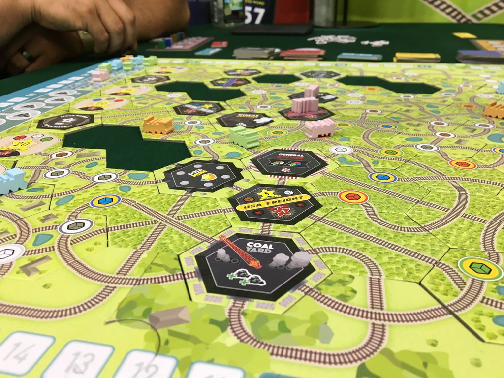 Board Game: Whistle Stop