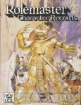 RPG Item: Rolemaster Character Records