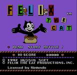 Video Game: Felix the Cat