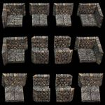 RPG Item: Game Tiles Dungeon Passage Pack 3/Assorted