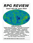 Issue: RPG Review (Issue 23 & 24 - Jun 2014)