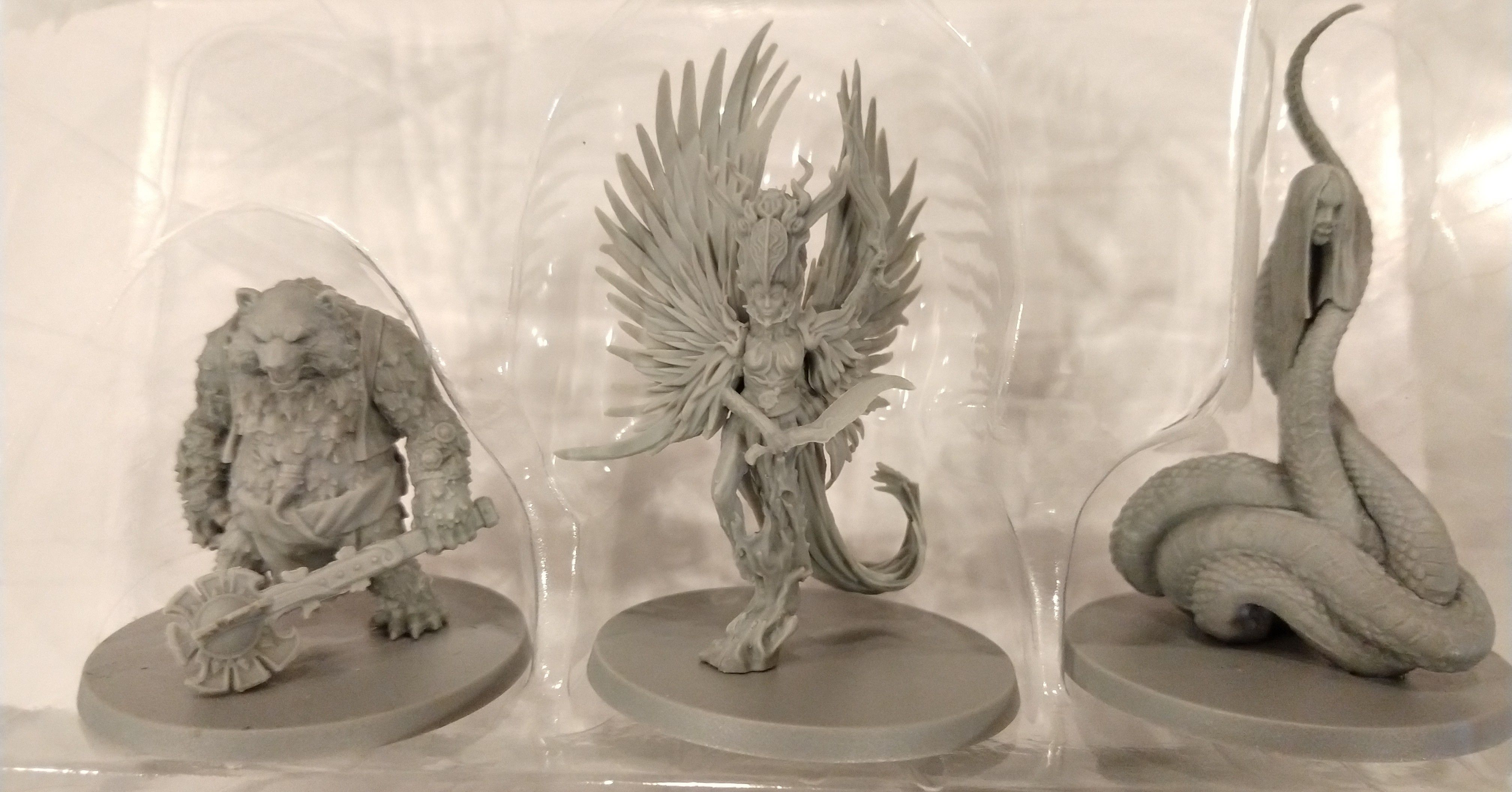 Rising Sun: Promo 1 – Sacred Warrior, Phoenix, and Nure-Onna