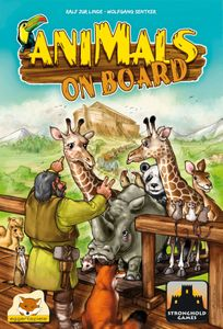 Animals on Board Cover Artwork