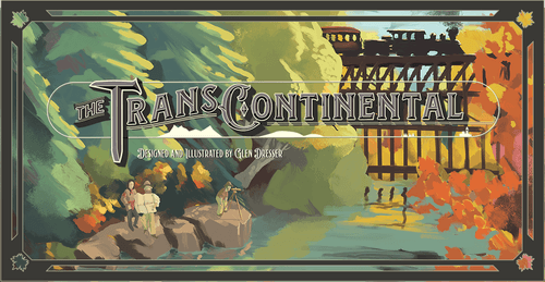 Board Game: The Transcontinental