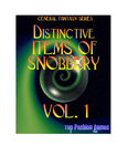 RPG Item: Distinctive Items Of Snobbery Vol. 1