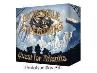 Board Game: Incredible Expeditions: Quest for Atlantis