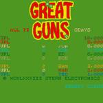Video Game: Great Guns