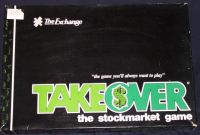 Board Game: Takeover: The Stock Market Game
