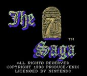 Video Game: The 7th Saga