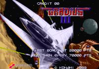 Video Game: Gradius III